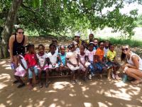 Children at Bible Camp