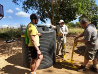 New Cistern For Clean Water Project