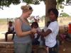 2012 - Sophia's first trip to Haiti