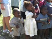 84 Haitian children