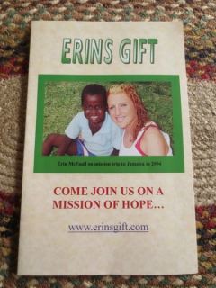ErinsGift Mission Team coming to Brick, NJ