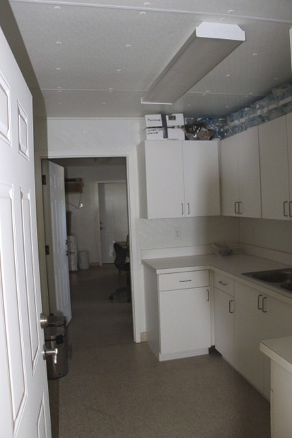 Inside of medical clinic