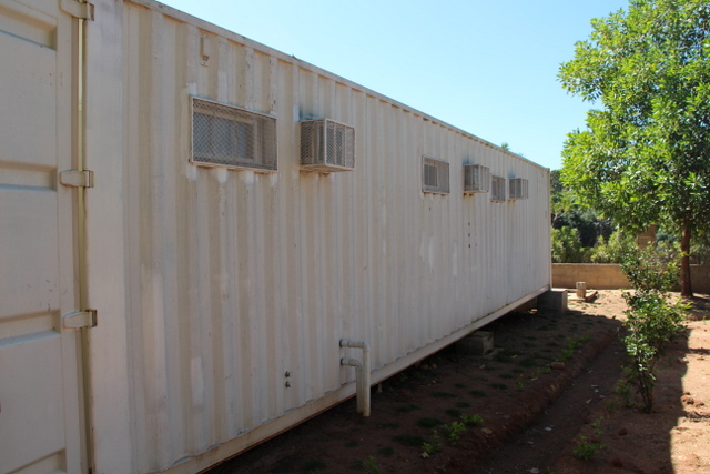 Side of medical clinic