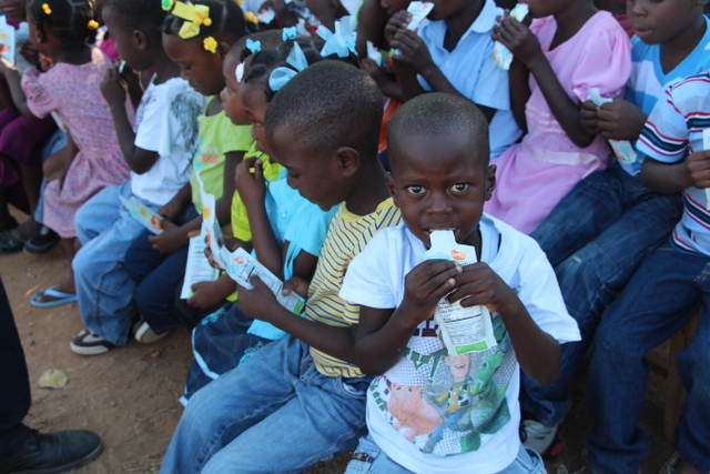 Hope Protein Gels for the kids in Lac\'ajue