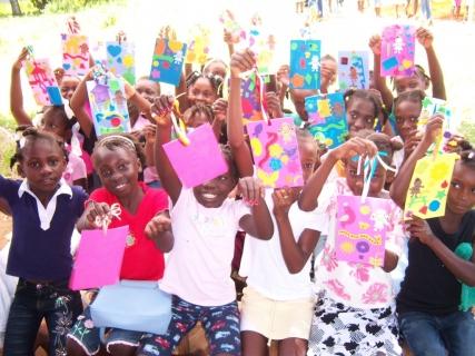 Arts & Crafts at Bible Camp