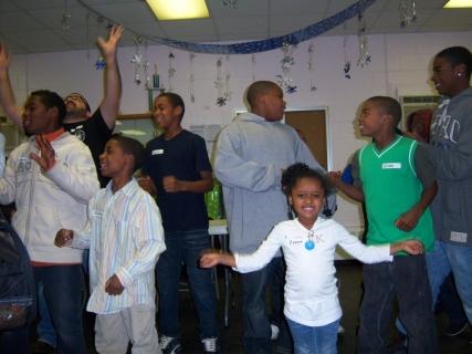 We were singing!