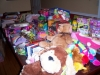 So many donated gifts for the children in Atlantic City
