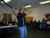 Pastor Santo speaks to the kids about Jesus
