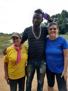 Sharon, Boaz and Carol