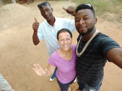 Francis, Pam and Boaz