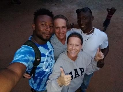 Boaz, Craig, Pam and Francis