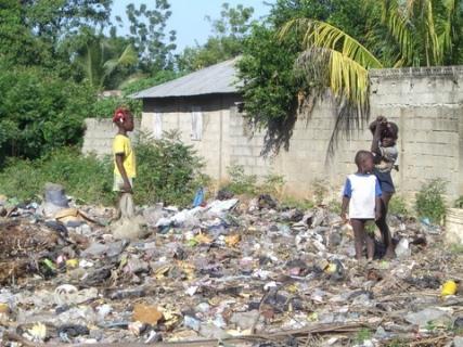 165 children in garbage