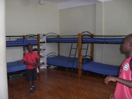 197 boys bedrooms at Danitas