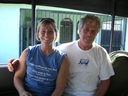 220 Bob and Pam on truck