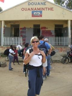 36 a Pam infront of passport office