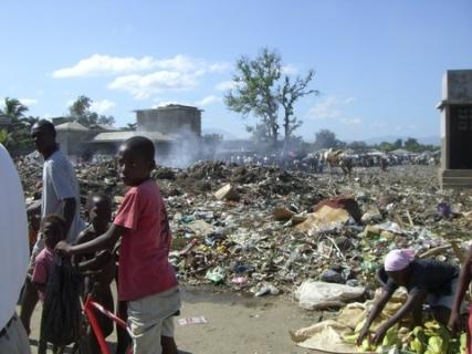 95 garbage at market