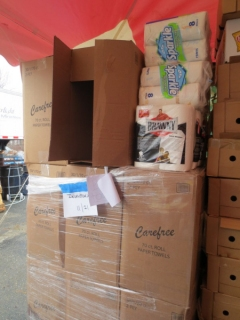 Supplies from Fema and Red Cross