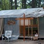 Chapel Tent at the Tent City