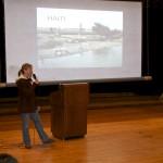 Speaking at Wall Intermediate School April 2011