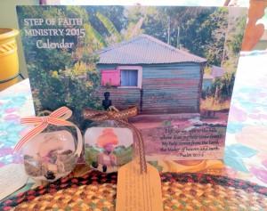 2015 Haiti Calendar and 2014 Grains of Grace Ornament